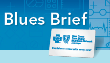 Blues Brief a newsletter for Blue Cross and BCN providers.